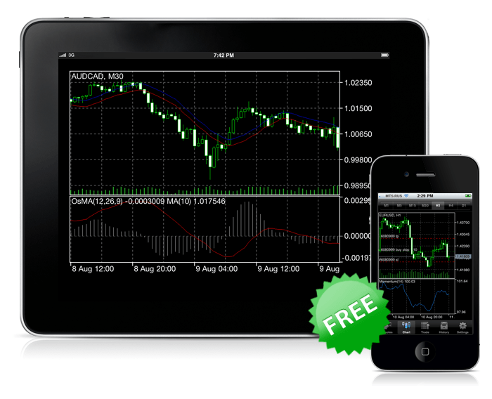 Mobile Trading with MetaTrader 5 for iPhone