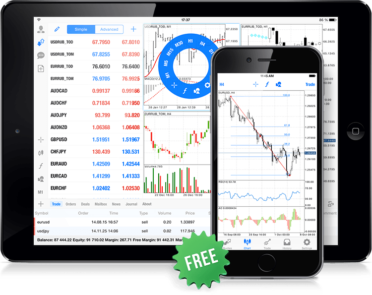 Mobile Trading with MetaTrader 5 for iOS