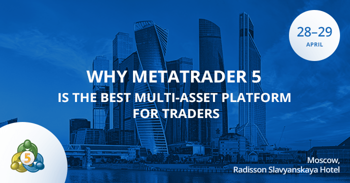 MetaQuotes Software auf Moscow Financial Expo 2017