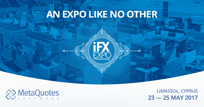 MetaQuotes Software auf iFX EXPO International 2017