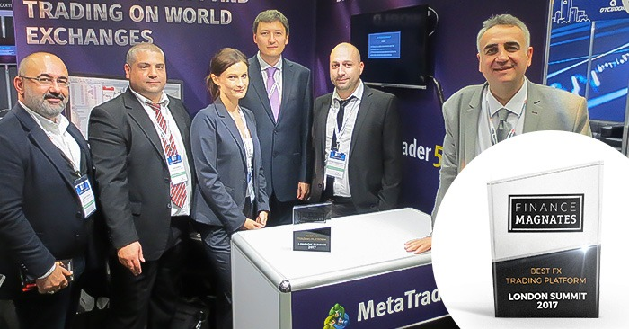 MetaTrader awarded with the Best FX Trading Platform
