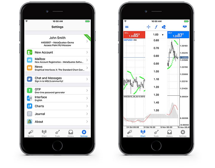MetaTrader 5 iOS build 1425