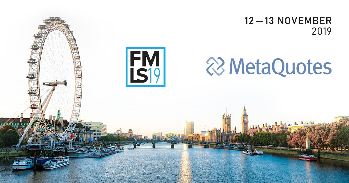 MetaQuotes Software mostrará novos projetos para o MetaTrader 5 na London Summit 2019