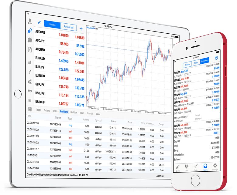 Новый MetaTrader 5 iOS build 1547 с историей позиций