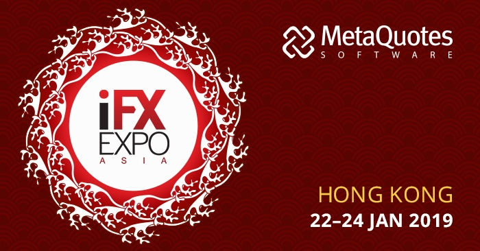 MetaQuotes Software est un Sponsor Gold du salon iFX Expo Asia 2019