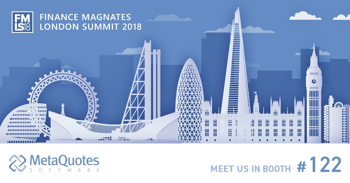 MetaQuotes Software to present new projects at the London Summit 2018