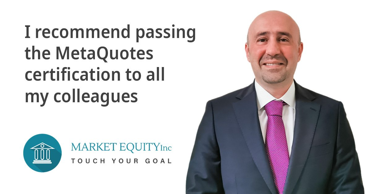 MetaQuotes certification helps Market Equity employees get promoted