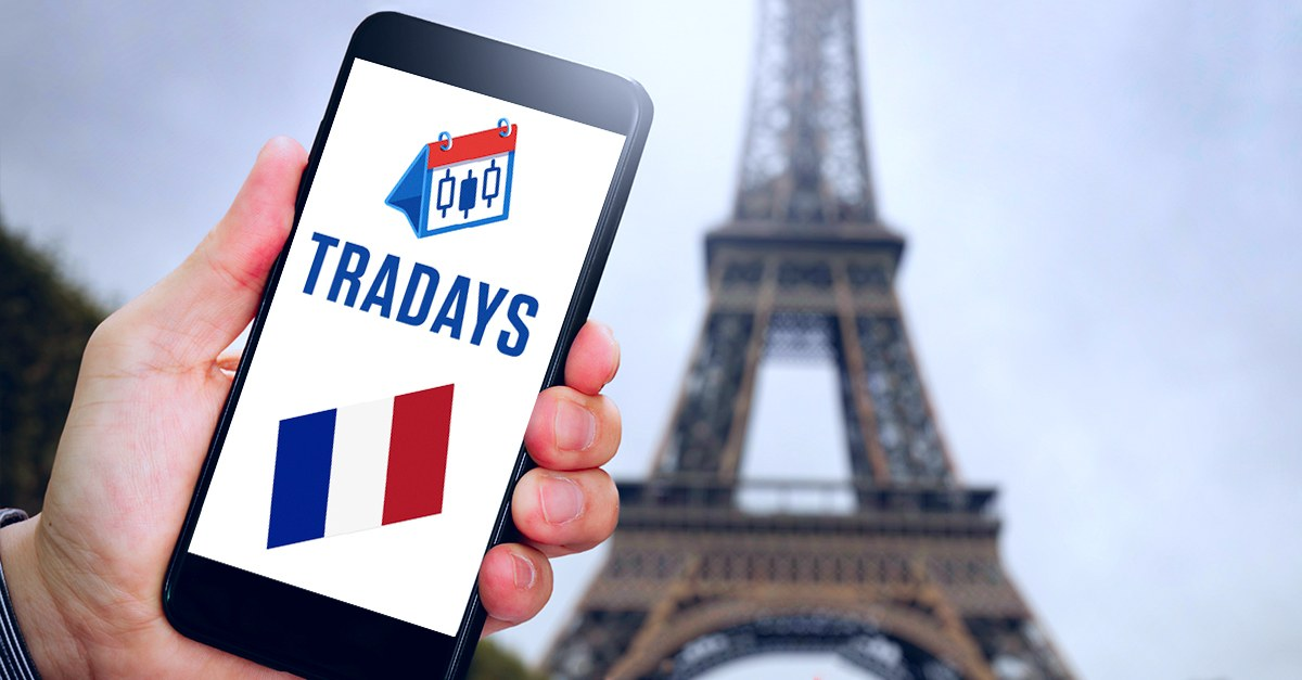 France is now featured in Tradays economic calendar