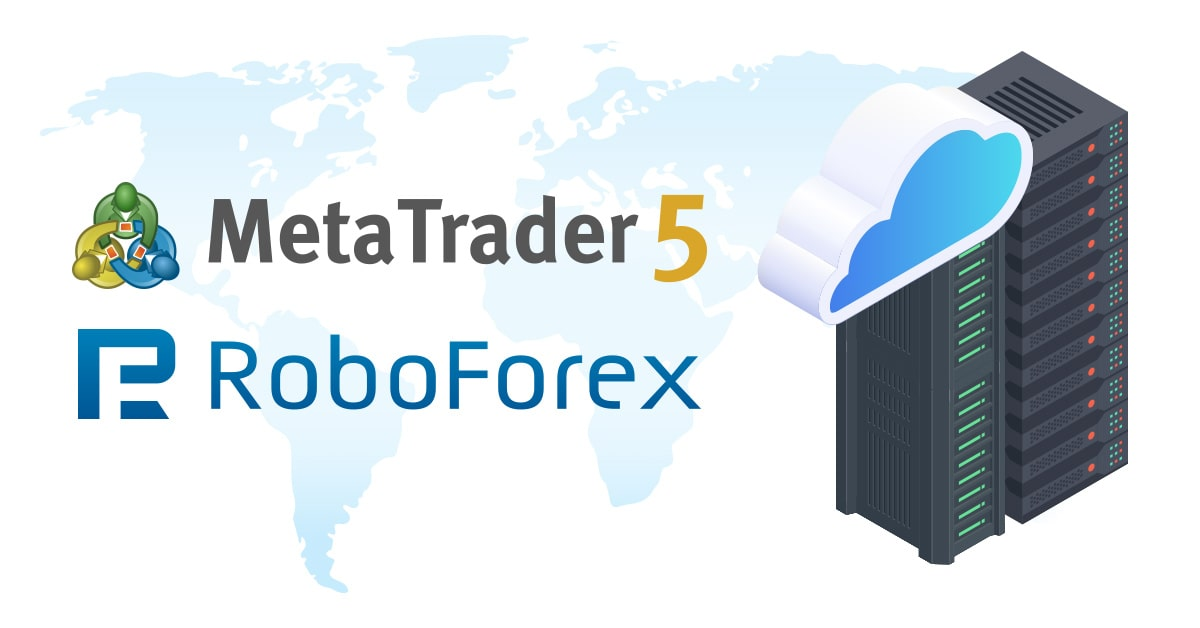 RoboForex offers sponsored VPS on MetaTrader 5 accounts