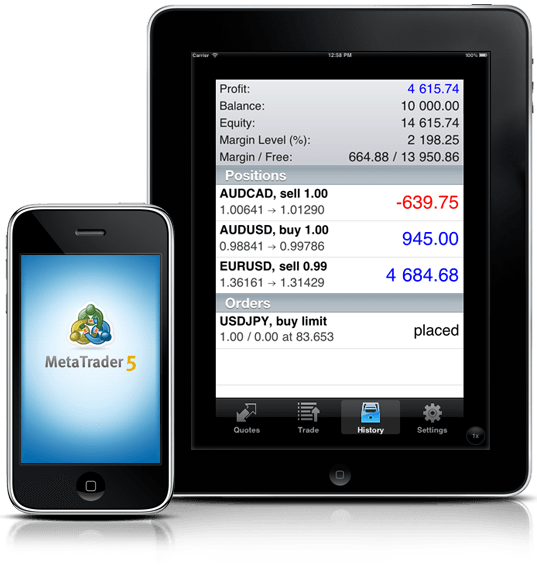 MetaTrader 5 iOS 已经发布