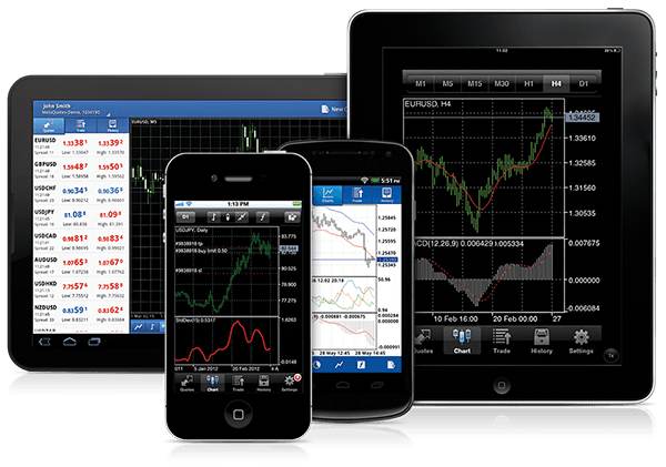 500 000 Traders Use MetaTrader 4 and MetaTrader 5 Mobile Terminals