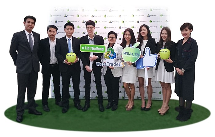 The First MetaTrader 5 in Thailand Launched