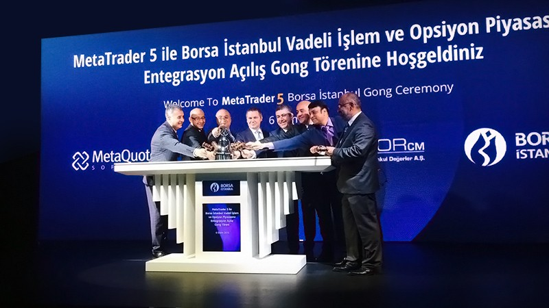 MetaTrader 5 Launched on Borsa Istanbul