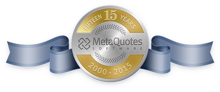 MetaQuotes Software Corp. 已经15岁啦!
