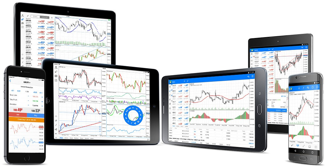 Mobile trading in MetaTrader 5 allows you to trade Forex and exchanges via an iOS or Android-powered phone, smartphone, or tablet