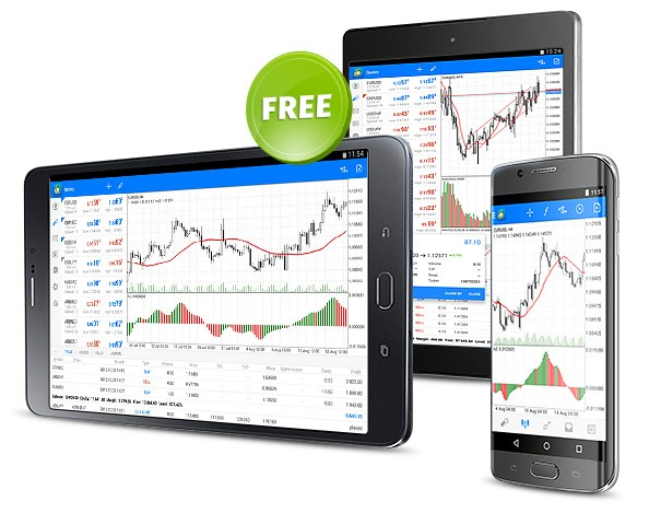 Download free MetaTrader 5 for Android smartphones and tablets