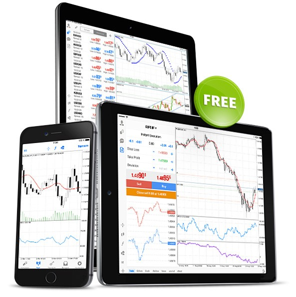 免费下载MetaTrader 5 iPhone/iPad版!