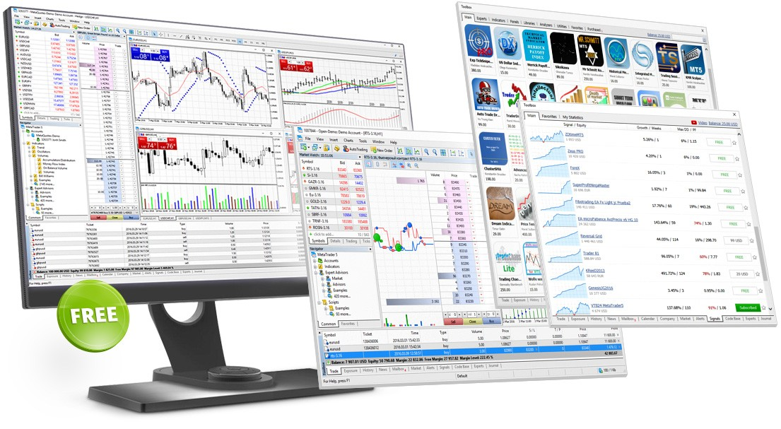 Download the MetaTrader 5 trading platform for free