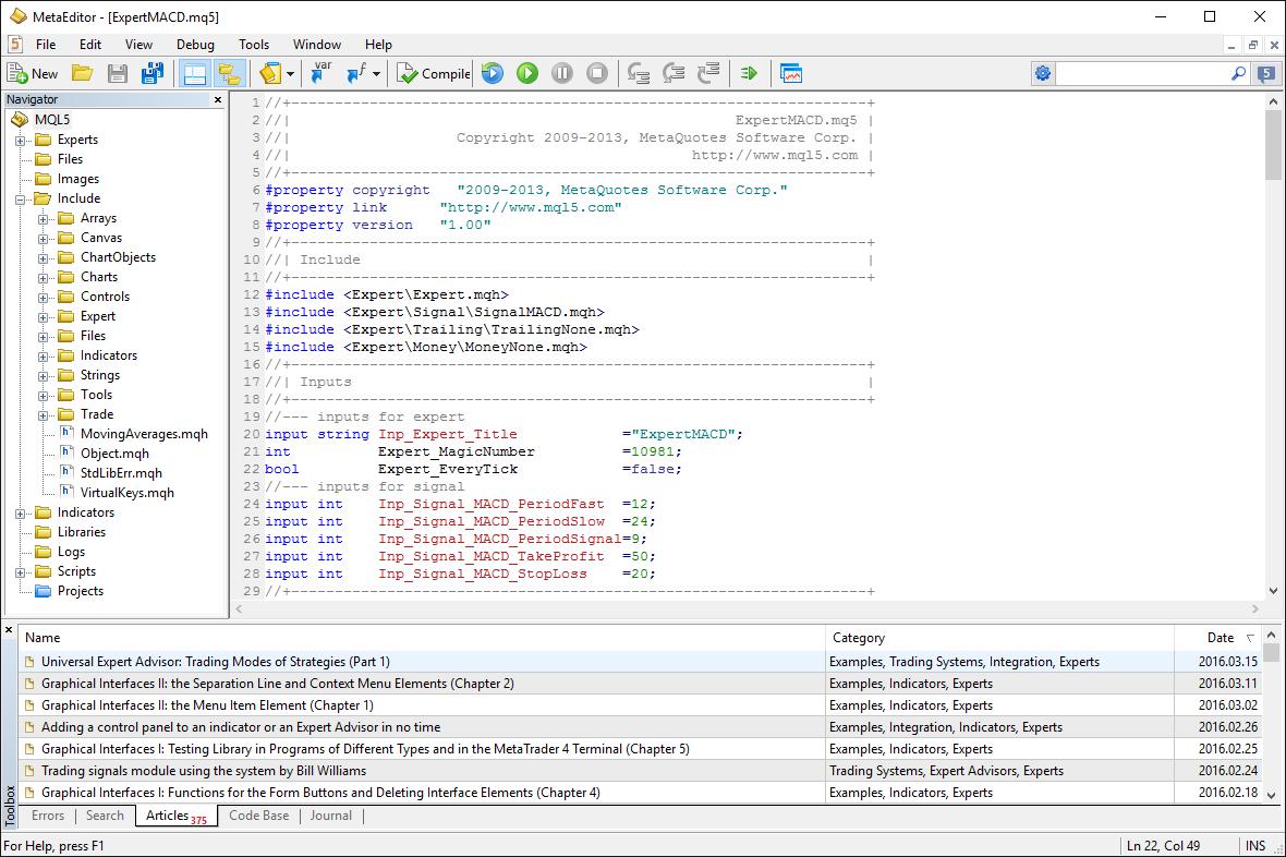 Custom trading forex software engineer