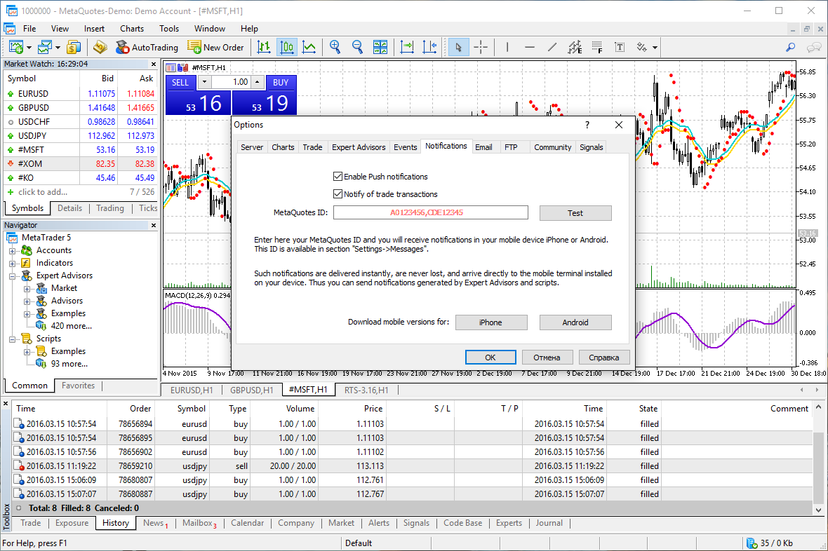 MetaTrader4 Vs MetaTrader5
