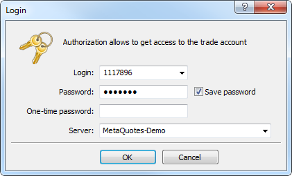 Authentication using OTP