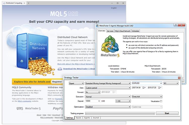 MQL5 Cloud Network - MetaTrader 5 Help