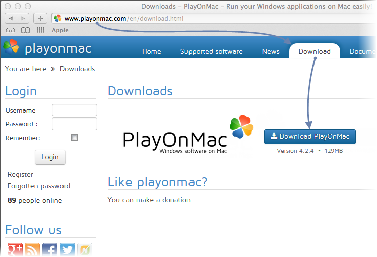 Download PlayOnMac