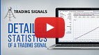 Watch video: Detailed statistics of a trading signal