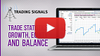 Watch video: Trade statistics, growth, equity & balance graphs