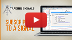 Watch video: Subscribe to a trading signal